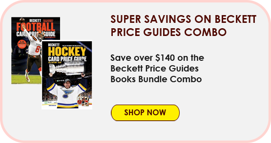 Super Savings on Beckett Price Guides Combo
