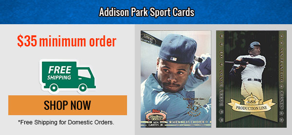 Addison Park Sport Card