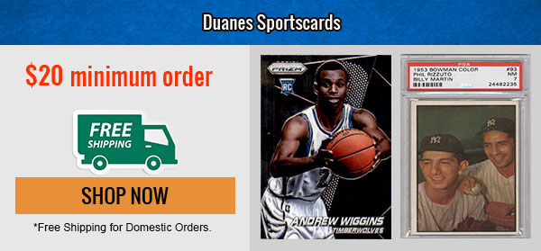 Duanes Sports Cards