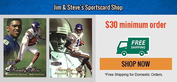 Jim Steve Sports Card