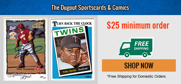 The Dugout Sports Cards