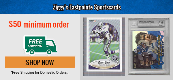 Ziggy Eastpointe Sports Card