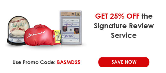 Beckett Authentication Special