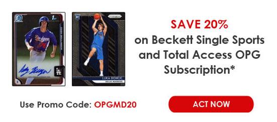 Beckett Online Price Guides
