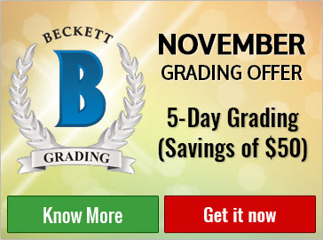 Beckett Grading Services and Beckett Vintage Grading on Beckett.com