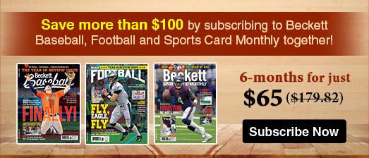 Beckett Subscriptions Offer