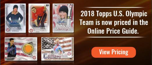 2018 Topps U.S. Olympic Team