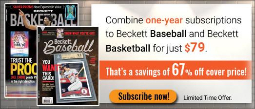 Beckett Baseball & Basketball combo
