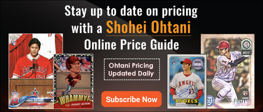 Shohei Ohtani Online Price Guide