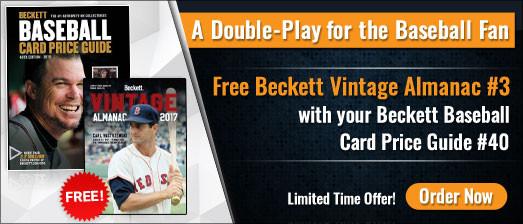 Baseball Card Price Guide Offer