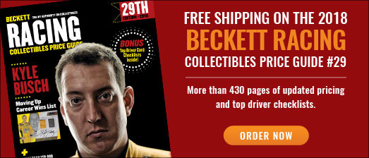 Beckett Racing Collectibles PG#29