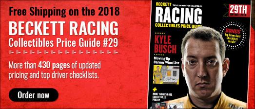 Beckett Racing Collectibles PG#29