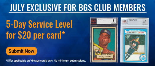 BGS Club Monthly Offer