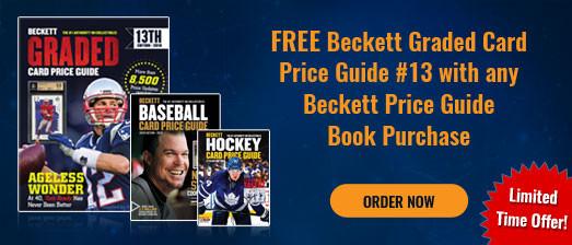 Beckett Price Guide offer