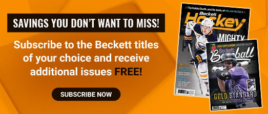 Beckett subscription free issue offer