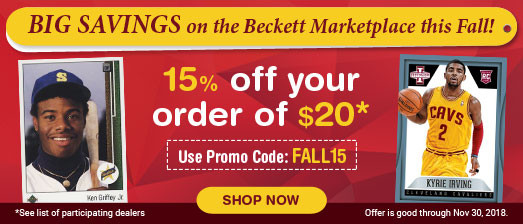 Marketplace Fall Promotion