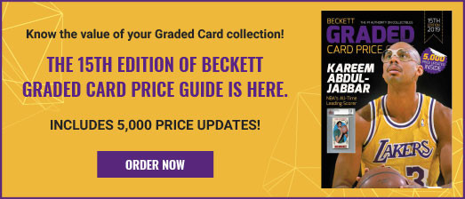 Beckett Graded Card Price Guide #15