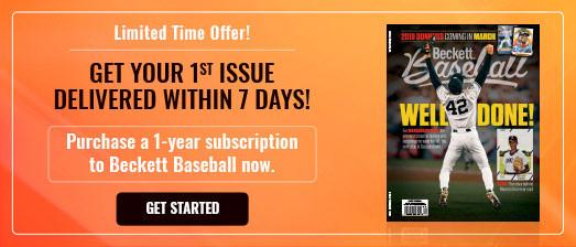 Beckett Baseball - First Issue Within First Week