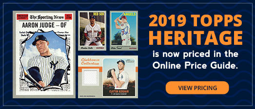 2019 Topps Heritage