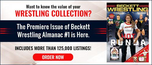 Beckett Wrestling Almanac #1