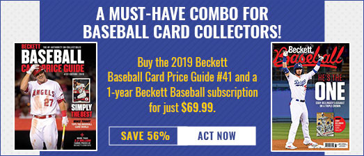 Beckett Baseball Subs Offer
