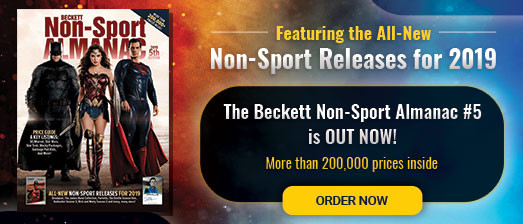 Beckett: Online Sports & Non Sports Cards Collectibles and