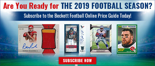 Beckett Online Sports Non Sports Cards Collectibles And