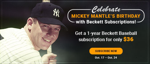 Mickey Mantle Birthday Special