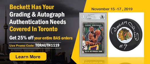 Toronto Sport Card & Memorabilia Expo