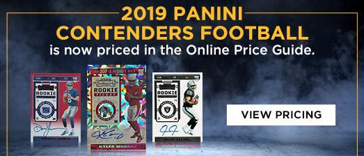 2019 Panini Contenders Football