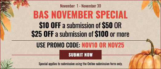 BAS November Special