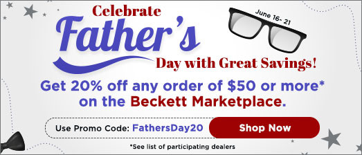 Beckett Father's day Special